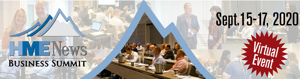HME News Business Summit | September 15-17, 2020 | Virtual Event